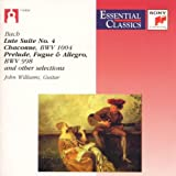 Bach: Lute Suite No.4; Chaconne, Bwv 1004; Prelude, Fugue And Allegro, Bwv 998