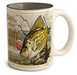 American Expedition Fishing Hole Coffee Mug Crappie by American Expedition