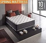 Wake-Up Foam Cotton Pocket Spring Mattress (King Size, 78x72x8-inch)