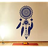wandtattoo traumf nger federn hindu vogel om yoga sticker. Black Bedroom Furniture Sets. Home Design Ideas