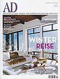 AD ARCHITECTURAL DIGEST 1/2012 WINTER REISE • Winter Reise • Ein Schloss in Yorkshire - Giorgio Armani • Schöne B