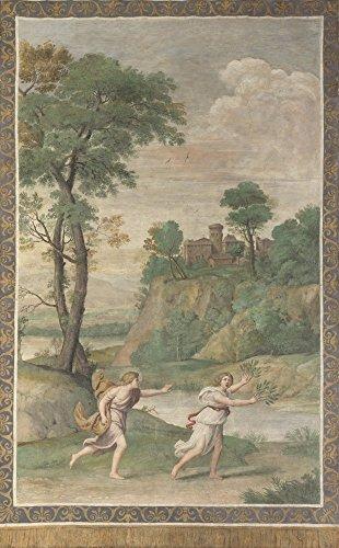 Das Museum Outlet-Domenichino und Assistenten-Apollo verfolgt Daphne-Poster Print Online kaufen (101,6x 127cm) -
