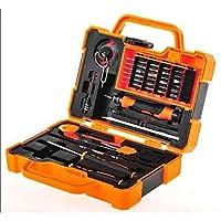 طقم ادوات صيانة جوالات ولابتوبات ، 45 قطعة ، JM-8139