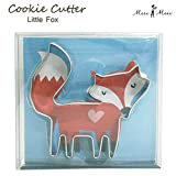 Meri Meri Fox Cookie Cutter, Metal 1 x 3