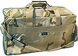 Commando Industries US Army AIRFORCE BAG Große Sport- und Reisetasche Nylon 57L in 3 (3 Farben Desert)