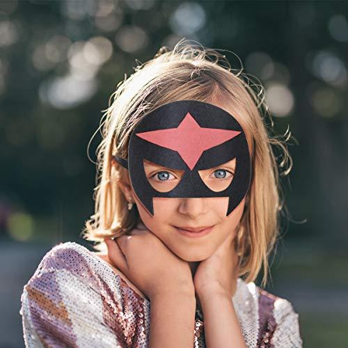 513QzFzawRL - URAQT Mascaras Superheroes, Máscaras para Niños, Máscaras Disfraz Superheroes Niños, Máscaras para Niños, Superheroes Party Máscaras, para Niños Mayores de 3 Años -16 Piezas