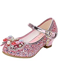 nett Iwfree Mädchen Ballerinas Schuhe Festlich Tanzschuhe