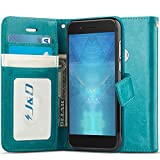 J&D Case Compatible for Alcatel Idol 5 Case, [Wallet Stand]
