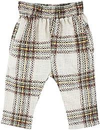 Small Rags bébé fille, pantalon 100% rayonne, beige/vert/marron, 60225