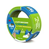 3M 20933625 - masking tapes (Painters masking tape, Indoor & Outdoor, Blue, Glass, Metal, Plastic, Wood, Smooth)