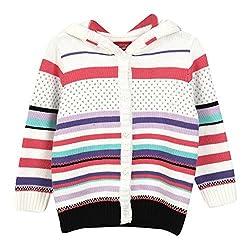 Lilliput Baby Girls Cardigans (8907264021968_White_6-12 Months)