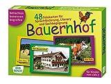 Bauernhof. 48 Fotokarten für Sprachförderung, Literacy und Sachbegegnung - 48 Fotokarten mit Begleitheft. Betrachten. Benennen. Begreifen. Für Kinder ... (Fotokarten für Sprachförderung und Literacy)