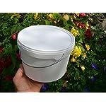 simonthebeekeeper 6 x Beekeepers 1/2 Gallon CONTACT FEEDERS 7