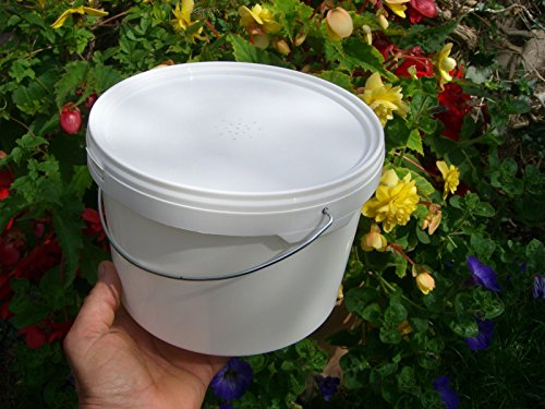 simonthebeekeeper 6 x Beekeepers 1/2 Gallon CONTACT FEEDERS 1