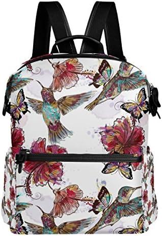 COOSUN Zaino da viaggio Colibrì farfalle farfalle farfalle scuola zaino Multi   Shop    Funzione speciale    Ottimo mestiere  8a2f2c