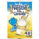 Nestlé p'tite céréale saveur vanille 400g dès 6 mois - ( Prix Unitaire ) - Envoi Rapide Et Soignée