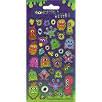 Paper Projects Monsters and Aliens Sparkle Stickers