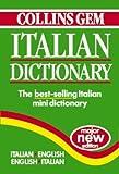 Italian Dictionary (Collins Gem) (Collins Gems)