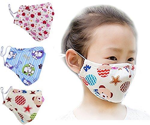 ihomey PM 2,5cotone viso bocca maschera muffola con Fliter respiratore Comfy riutilizzabile antipolvere antibatterico bocca, caldo antivento Viso Protettiva Guaze Maschera per viaggi, escursioni, lavoro, casa, sport, Moto, Sci, equitazione e più, rosa