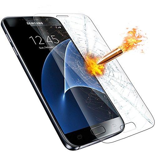 Preisvergleich Produktbild Samsung Galaxy S7 Displayschutzfolie, ikalula Samsung Galaxy S7 Schutzfolie 3D Vollständige Abdeckung Anti-Kratzen Galaxy S7 Panzerglas Ultra Full HD, Blasenfrei, Anti-Fingerabdruck und Hohe Qualität Gehärtetes Glas for Samsung Galaxy S7