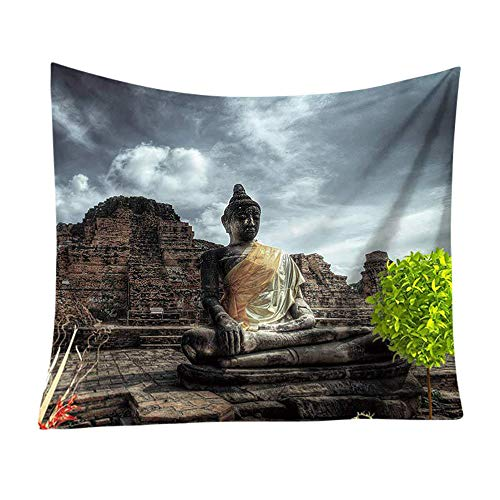 Rosennie Indian Tapisserie Wandbehang Mandala Tuch Wandtuch Gobelin Tapestry Indien Buddha Gedruckt Tapisserie Wandbehang Strandtuch Hippie Wandteppich Zuhause Dekore Tagesdecke -