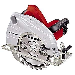 513R3vS531L. SS300  - Einhell TH-CS 1400 Sierra Circular 1400 W, 230 V, hoja de sierra de metal duro, 24 dientes (ref.4330937)