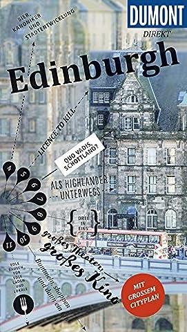 DuMont direkt Reiseführer Edinburgh: Mit großem Cityplan