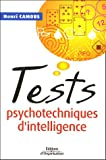 Tests psychotechniques d'intelligence...