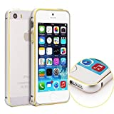 Generic 0.7mm Metal Bumper Frame Case Protective Cover for iPhone 5 5S