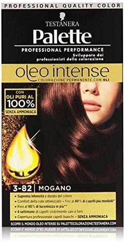 Testanera - Palette, Colorazione Permanente Con Oli, 3-82 Mogano