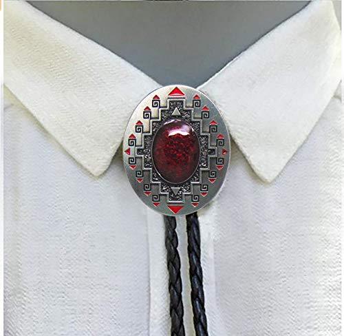 Aleación de estilo vintage Fashion Bolo Tie-Pajarita para hombre