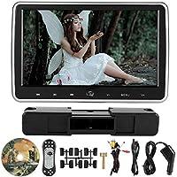 """Lecxin DVD para automóvil, Pantalla táctil de 10.1""""Botón táctil DVD Externo para automóvil Pantalla LCD en Color Monitor de reposacabezas Accesorios para automóviles para Mujeres Monitor de DVD"""