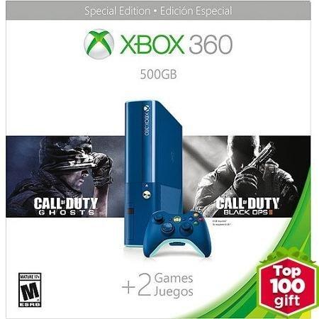 Xbox 360 E 500GB Blue COD BO2 by Microsoft