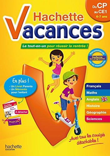 Hachette Vacances CP/CE1 par Daniel Berlion, Ann Rocard, Philippe Simon, Joanna Le May
