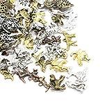 Paket 30 Gramm Gemischt Tibetanische ZufälligeMischung Charms (Hund) - (HA08610) - Charming Beads