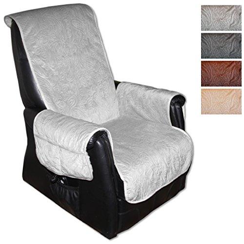 Sesselschoner Polsterschoner Sesselauflage Überwurf Gesteppt, Größe ca.: 160 x 150 - Farbauswahl:...