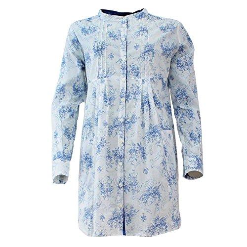 Camicia Da Notte Banana Moon Intimates Swan Cheryl Blu