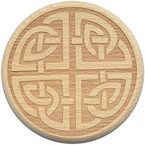 Bierglasdeckel Keltischer Knoten Gravur Kelten