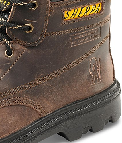 """Sherpa 15,24 cm (6"""") B-Click-Scarpe di sicurezza Marrone (marrone)"""