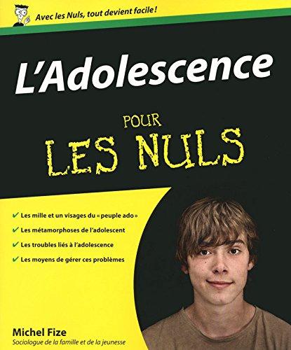 L'Adolescence Pour les nuls