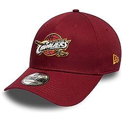 New Era NBA CLEVELAND CAVALIERS Team 39THIRTY Stretch Fit Cap, Größe:Medium / Large