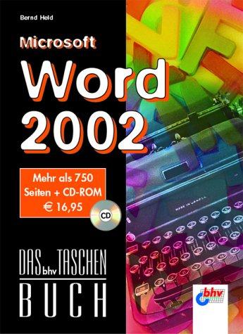 Das bhv-Taschenbuch.Microsoft Word 2002