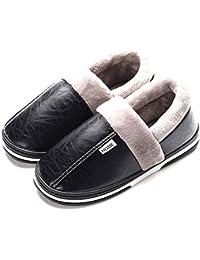 7195a2aa83726 Mujer Invierno Zapatillas de Estar casa Cerradas Calienta Pantuflas  Termicas Zapatos Slippers