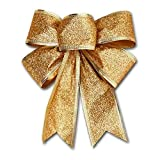 Reveryml Weihnachten Deko Weihnachtsdekoration Bogen Anhänger Ornamente Santa Claus Bell Weihnachtsbaum Bögen Weihnachtsschmuck Bäume