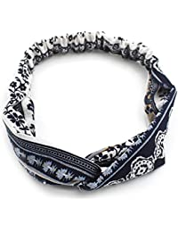 Fascia per capelli Bandana sciarpa multifunzionale Fascia elastica per  donna Ragazza per corsa d2605a95e22e