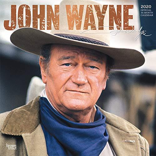 John Wayne 2020 - 16-Monatskalender: Original BrownTrout-Kalender [Mehrsprachig] [Kalender] (Wall-Kalender) (John Autobiographie Wayne)