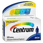 Centrum Mens 120 Ct Size 120 C Centrum Multivitiamin Men Under 50 Bonus Size 100 + 20 Free 120ct