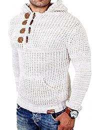 Tazzio - Tricot mode homme Pull 440 beige mélangé - Beige