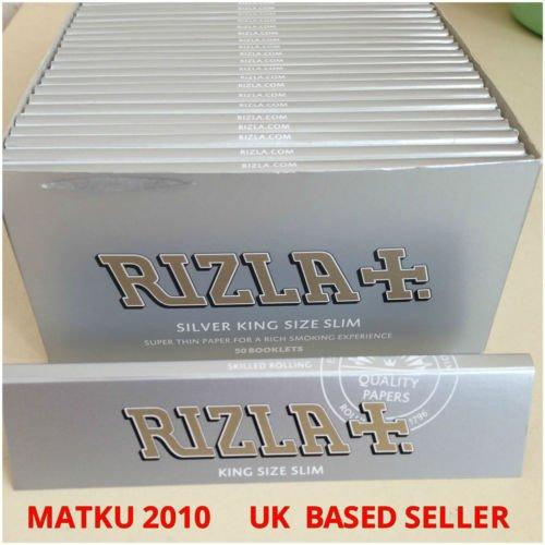 rizla-rolling-paper-50pks-box-silver-king-size-slim