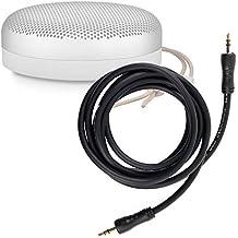 Câble audio 2x prises mâles pour Anker SoundCore mini, B&O PLAY by Bang & Olufsen Beoplay A1, Philips BT50B enceinte Bluetooth portable - DURAGADGET